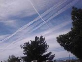 Picture of chem-trail